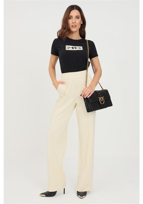 Pantaloni donna avorio only in tessuto stretch ONLY | Pantaloni | 15235076WHITECAP GRAY