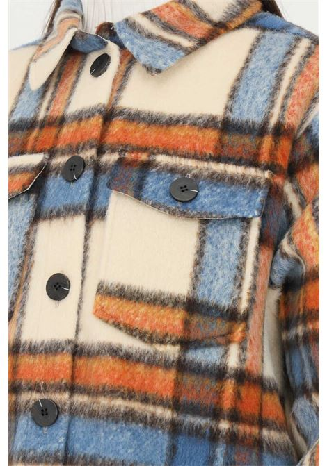Women's checked shirt by only, casual model in heavy fabric ONLY   Shirt   15235844ARIABIAN SPICE