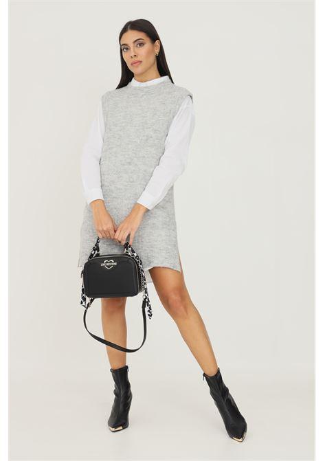 Gilet in maglia da donna grigio only taglio midi ONLY | Gilet | 15235961LIGHT GREY MELANGE