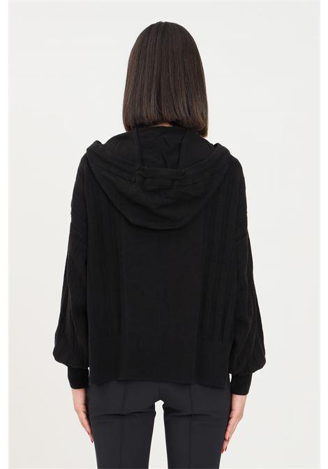 Maglioncino donna nero only con cappuccio ONLY | Maglieria | 15236370BLACK