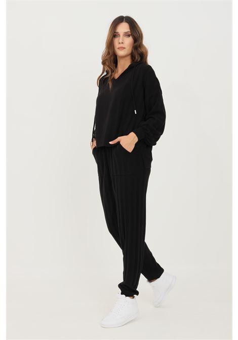 Pantaloni donna nero only modello casual con banda elastica in vita ONLY | Pantaloni | 15236374BLACK