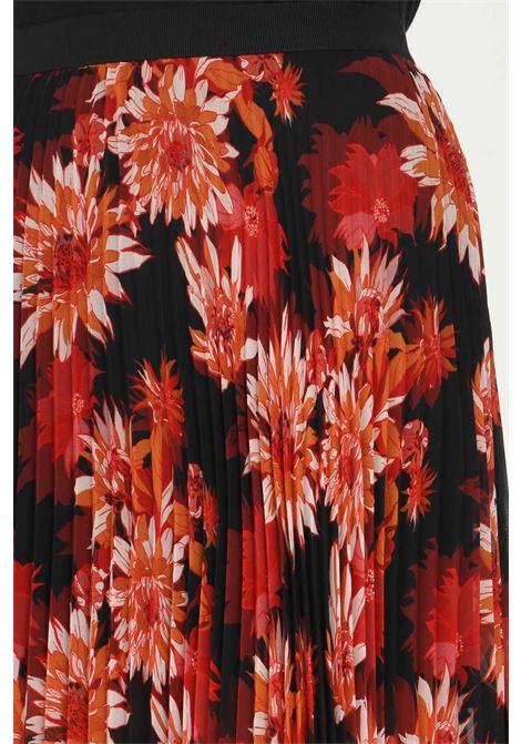Gonna a fiori patrizia pepe taglio lungo PATRIZIA PEPE | Gonne | 2G0834/A9V5XU93