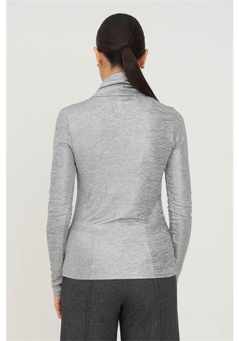 T-shirt donna silver patrizia pepe a manica lunga PATRIZIA PEPE | T-shirt | 2M4170/A9W4S498