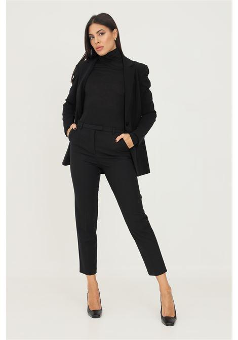 Pantaloni donna nero patrizia pepe elegante PATRIZIA PEPE | Pantaloni | 2P1336/A1PHK103