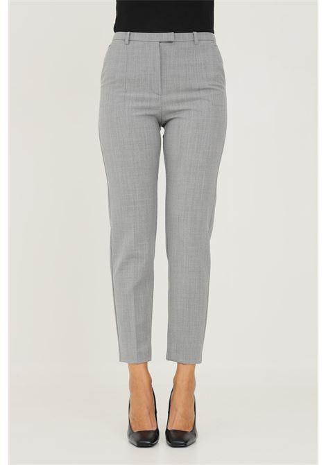 Pantaloni donna grigio patrizia pepe elegante PATRIZIA PEPE | Pantaloni | 2P1336/A1PHS131