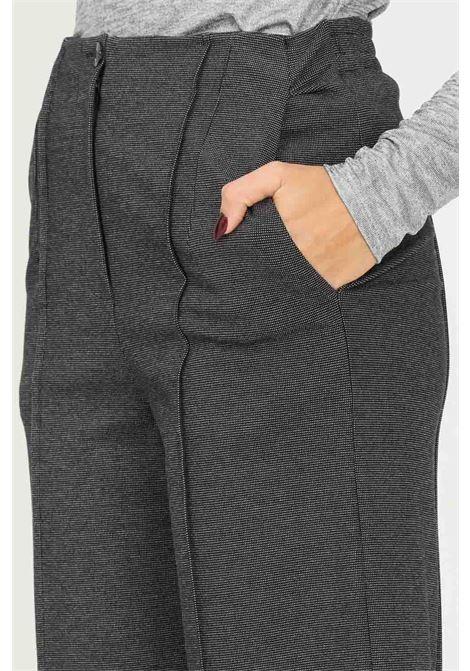 Pantaloni donna grigio patrizia pepe con elastico sul retro PATRIZIA PEPE | Pantaloni | 2P1354/A9U4FC22