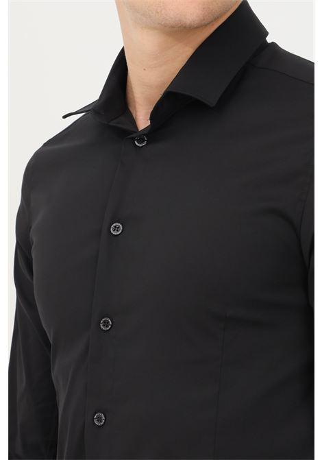 Black elegant shirt with buttons by patrizia pepe PATRIZIA PEPE | Shirt | 5C055B/A01K102