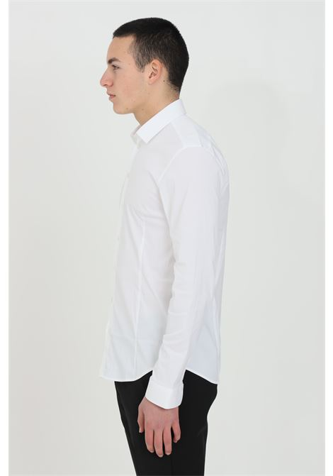 White elegant shirt with buttons by patrizia pepe PATRIZIA PEPE | Shirt | 5C055B/A01W103