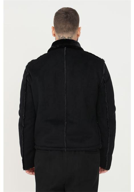Giubbotto da uomo nero patrizia pepe con zip frontale PATRIZIA PEPE   Giubbotti   5L0258/A9X9K102