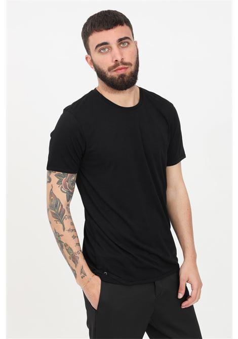 Black men's t-shirt short sleeve patrizia pepe PATRIZIA PEPE | T-shirt | 5M1223-AT23K102