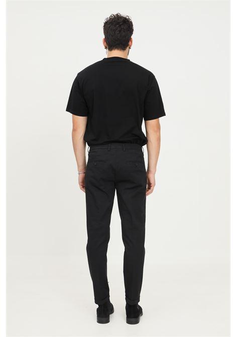 Black men's trousers by patrizia pepe, elegant model PATRIZIA PEPE | Pants | 5P0429/A9X6K102