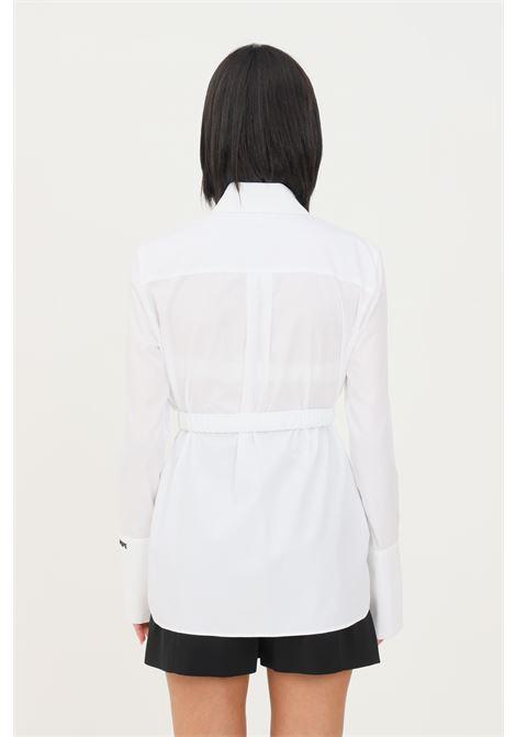 Camicia bianco donna patrizia pepe con polso alto PATRIZIA PEPE | Camicie | 8C0464/AB01W103