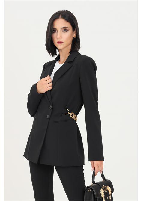 Black women's essential jacket by patrizia pepe two buttons PATRIZIA PEPE | Blazer | 8S0395/A6F5K103