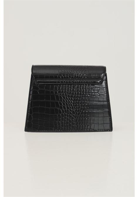 Borsa donna nero pieces con tracolla modello in tessuto martellato PIECES   Borse   17115989BLACK