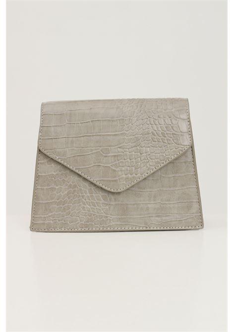 Borsa donna ghiaccio pieces con tracolla modello in tessuto martellato PIECES   Borse   17115989SILVER MINK