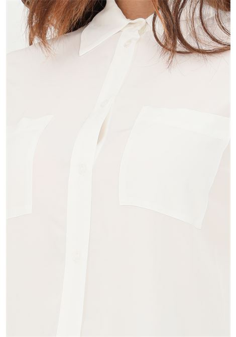 Camicia donna bianco pinko elegante PINKO | Camicie | 1G16PH-Y6ZVZ14