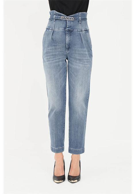 Jeans donna pinko bustier in denim PINKO | Jeans | 1J10QS-Y78MG14