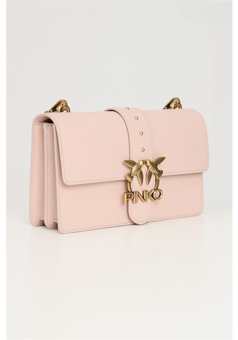 Pink women's love classic icon bag with shoulder strap pinko PINKO | Bag | 1P22A9-Y6XTO81