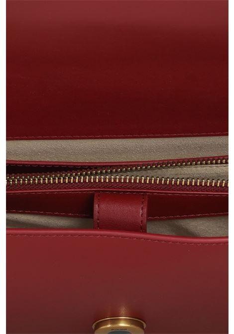 Borsa love classic icon donna bordeaux pinko con tracolla PINKO   Borse   1P22A9-Y6XTR44
