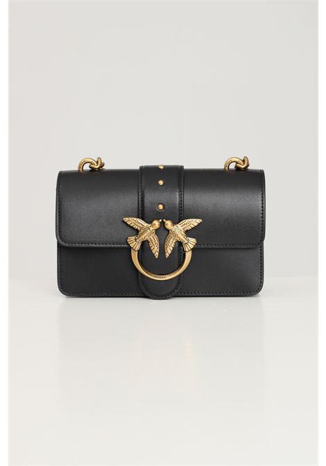 Black women's shoulder bag by pinko PINKO | Bag | 1P22AA-Y6XTZ99