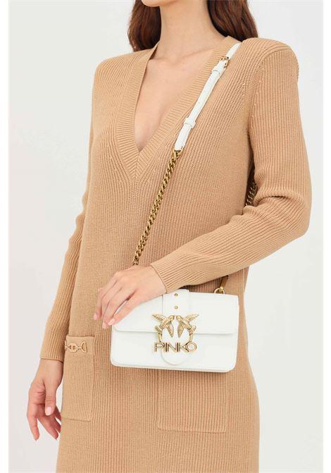 White women's shoulder bag by pinko PINKO | Bag | 1P22AF-Y6XTZ14