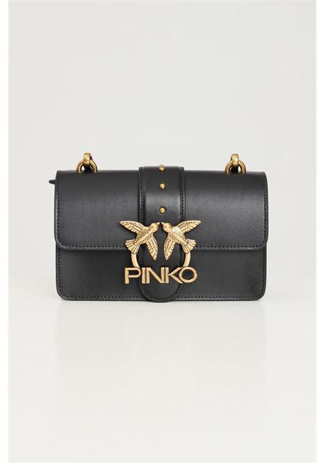 Black women's shoulder bag by pinko PINKO | Bag | 1P22AF-Y6XTZ99