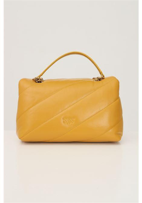 Borsa classic puff quilt donna senape pinko con tracolla PINKO | Borse | 1P22AY-Y6Y3H65