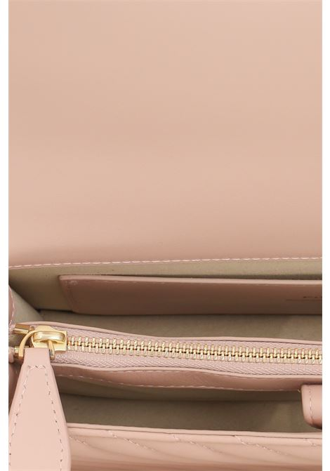 Borsa donna cipria pinko con tracolla amovibile PINKO | Borse | 1P22BT-Y7FYO81