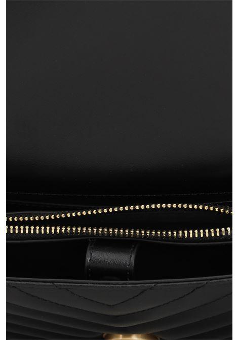 Borsa donna nero pinko con tracolla lavorazione trapuntata PINKO   Borse   1P22BW-Y7FYZ99