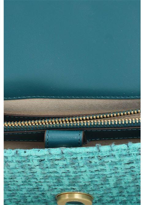 Borsa donna verde pinko modello intreccio con tracolla PINKO   Borse   1P22CV-Y7G9SS6