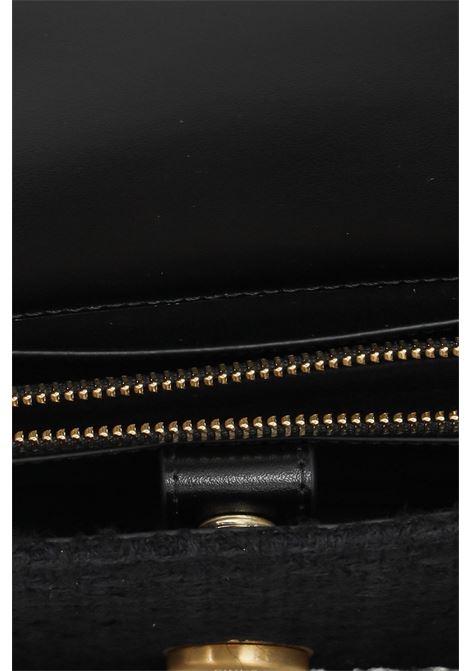 Borsa donna nero pinko modello intreccio con tracolla PINKO | Borse | 1P22CV-Y7G9Z99