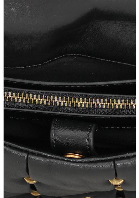 Borsa donna nero pinko con tracolla removibile PINKO | Borse | 1P22E8-Y7HXZ99