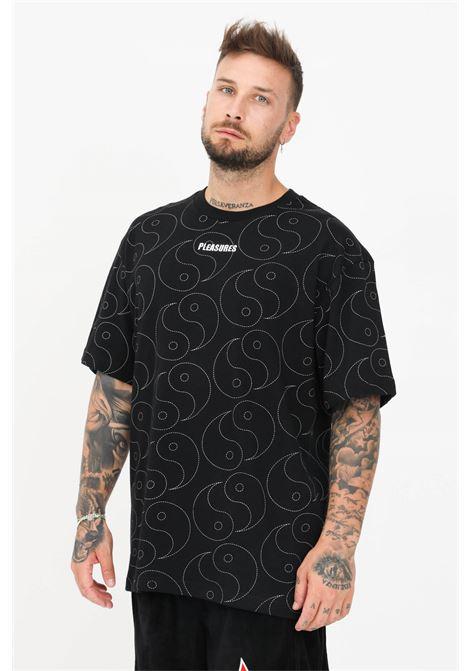 T-shirt ying heavyweight uomo nero pleasures a manica corta PLEASURES | T-shirt | P21SU021BLACK