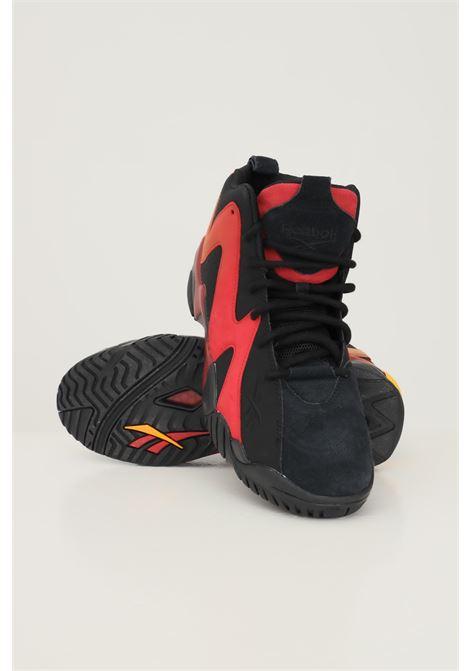 Black unisex kamikaze II sneakers by reebok REEBOK | Sneakers | H01318.