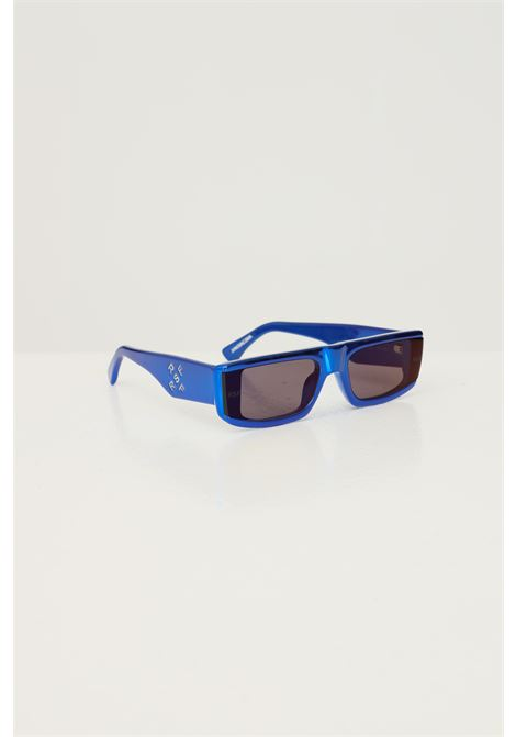 Blue unisex retrosuperfuture issimo chrome sunglasses RETROSUPERFUTURE | Sunglasses | ISSIMO CHROME.BLU