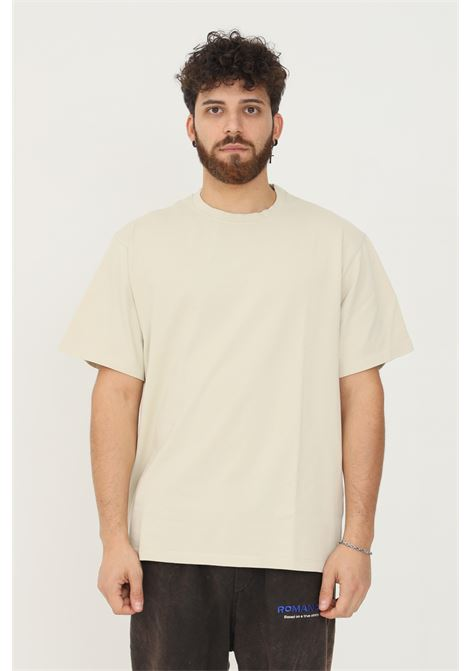 Sand men's t-shirt by romance with print on the front, short sleeve ROMANCE | T-shirt | R08007TSC1401