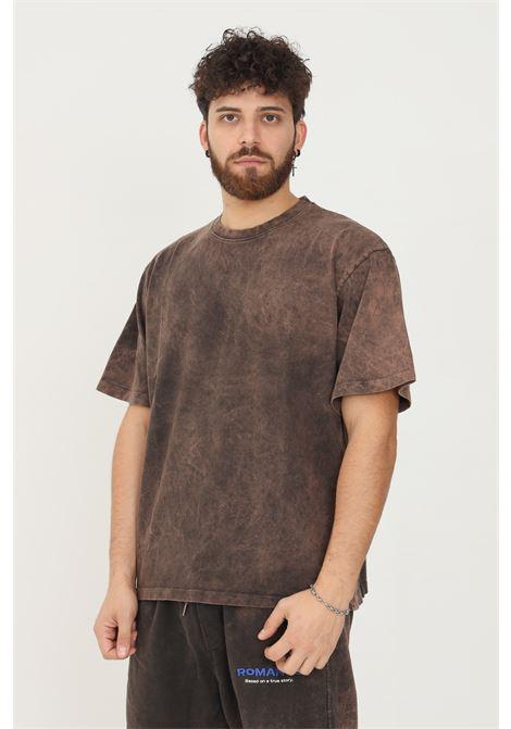 Rust men's t-shirt by romance with print on the back, short sleeve ROMANCE | T-shirt | R08008TSC1660