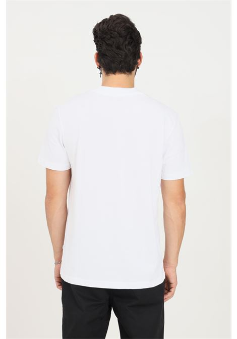 White men's t-shirt by selected short sleeve SELECTED | T-shirt | 16077385BRIGHT WHITE
