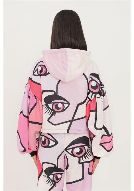 Pink fantasy women's hoodie by shit  SHIT | Sweatshirt | SHT011PA9