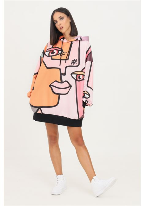 Pink fantasy dress by shit short cut with hood SHIT | Dress | SHT012PA8