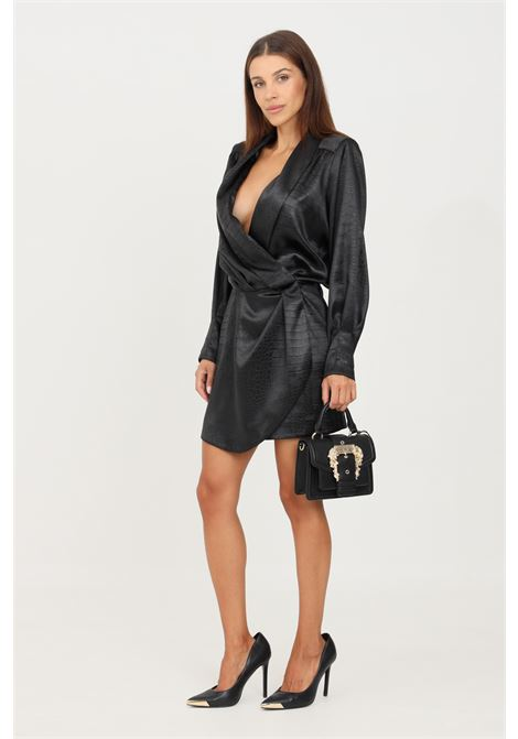 Black dress by simona corsellini short cut SIMONA CORSELLINI | Dress | A21CPAB014-01-TJAQ00220003