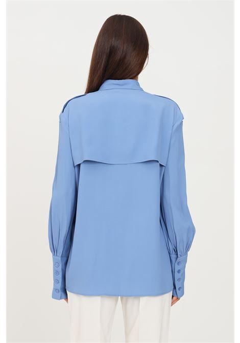 Camicia donna azzurro simona corsellini elegante SIMONA CORSELLINI | Camicie | A21CPCA005-01-TACE00020522