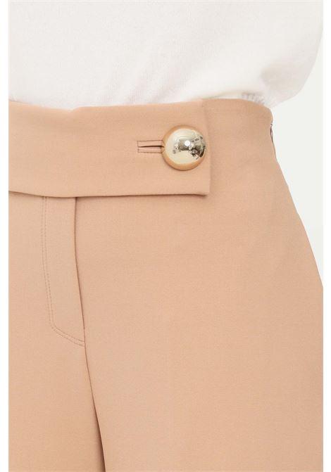 Camel women's trousers by simona corsellini elegant model SIMONA CORSELLINI | Pants | A21CPPA014-01-TCAD00210067