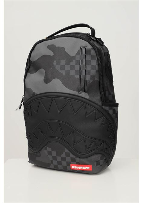 Black unisex 3am never sleep dlx backpack by sprayground SPRAYGROUND | Backpack | 910B3880NSZ.