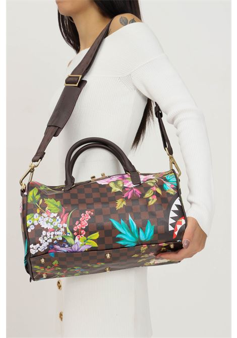 Printed women's bag by sprayground with handles and removable shoulder strap in fabric SPRAYGROUND | Bag | 910D3926NSZ.