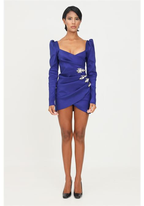 Blue dress by stefano de lellis with asymmetrical cut STEFANO DE LELLIS | Dress | MARA4