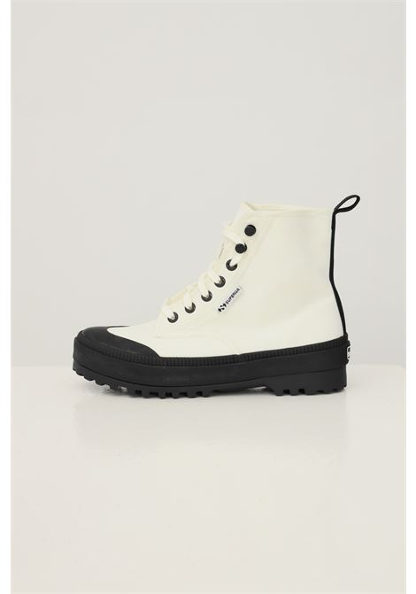 White women's alpina nylon trek sneakers by superga, boot model SUPERGA | Sneakers | S4113DWX1L