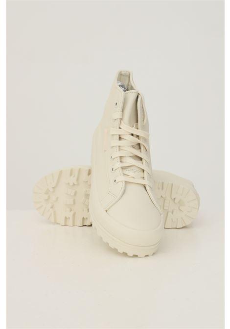 White women's high alpina nappa sneakers by superga SUPERGA | Sneakers | S41188WA6D
