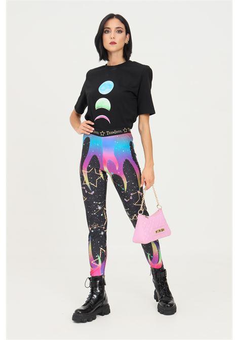 Space fantasy leggings by teen idol with elastics on the bottom TEEN IDOL | Leggings | 029812200