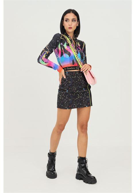 Black women's skirt by teen idol with elastic waistband TEEN IDOL | Skirt | 030015200